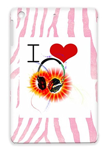 Hip Hop Hot Unique Rap Rock Music Original Music Soul New Heart Headphones Cool Pop Country Art Love Black Case For Ipad Mini I Heart