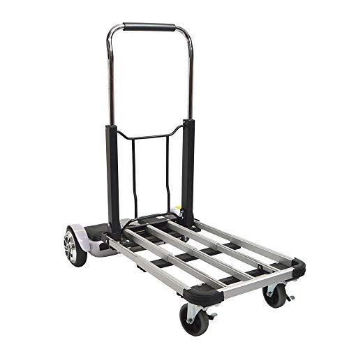 人と荷物一緒に乗れる電動台車「電動ライドオン台車」79,800円