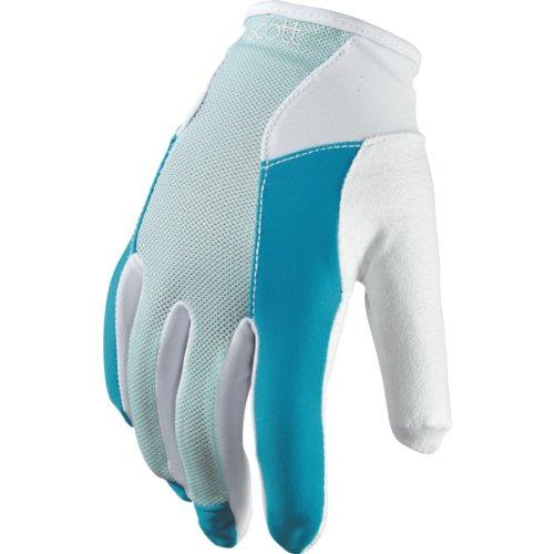 Scott Essential Damen Fahrrad Handschuhe lang blau/weiß 2014: Größe: M (8)