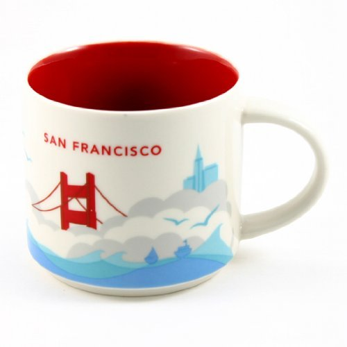 Starbucks San Francisco You Are Here Collection Mug front-601033