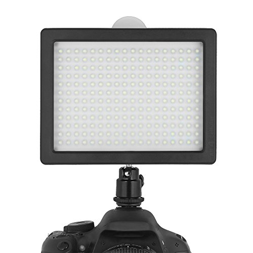 Chromo 216 LED CI-216 Dimmable Ultra High Power Panel / Camcorder Video / Digital SLR Camera LED Light  for Canon, Nikon, Pentax, Panasonic,SONY, Samsung and Olympus Digital SLR Cameras image
