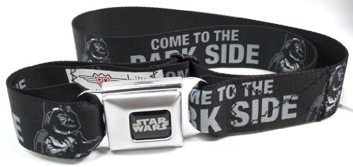 "Star Wars Darth Vader ""Come to the Dark Side"" Seatbelt Belt"