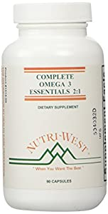 Nutri-West - COMPLETE OMEGA-3 ESSENTIALS 2:1 - 90 capsules