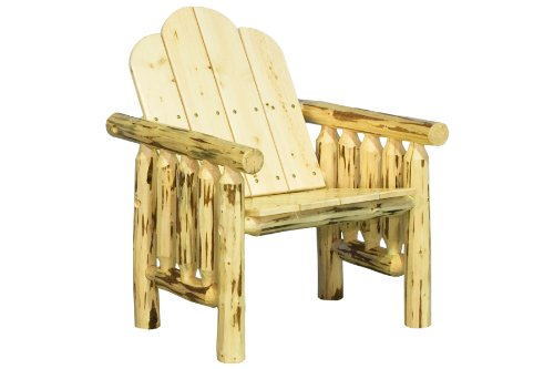 Montana Woodworks Montana Collection Deck Chair, Clear Exterior Finish