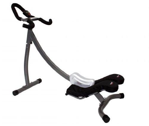 Crazy Abs Abdominal Exercise Home Gym, Black