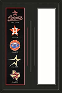 Houston Astros & Your Choice of other Team Heritage Banner Framed-House... by Art and More, Davenport, IA