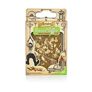 Thorntons Apple Crumble Toffee Slab 250g