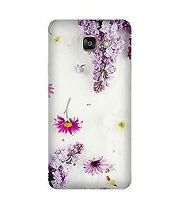 Pink Flowers Samsung Galaxy S7 Case