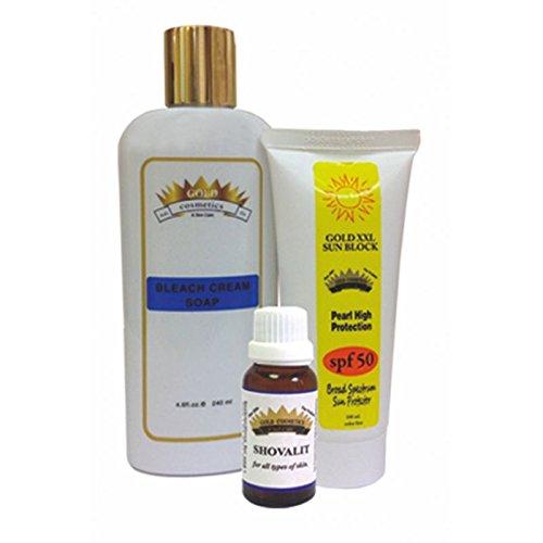 Gold Cosmetics & Skin Care Deep Wrinkles On The Upper Lip Eliminate Wrinkles Anti Aging Kit