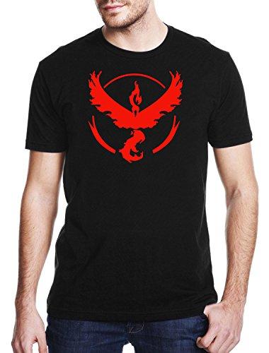 TEAM-VALOR-Gaming-T-shirt-Pokemon-GO-T-shirt-Unisex-Adults-Geek-Nerd-T-shirt-Mens-Comedy-T-Shirt