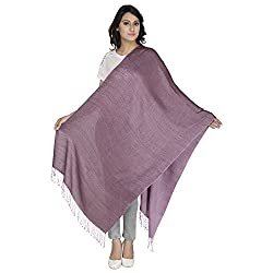 Anekaant Viscose Reversible Women's Shawl (Pink)