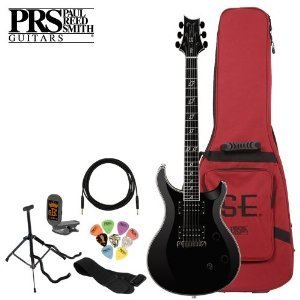 Paul Reed Smith Se Clint Lowery Electric Guitar Kit - Includes: Tuner, Cable, Strap, Stand, Pick Sampler And Prs Gig Bag