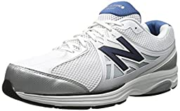 New Balance Men\'s MW847V2 Walking Shoe,White/Navy,13 B US
