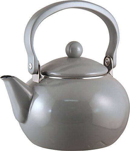 Calypso Basics 2-Quart Teakettle, Grey (Tea Kettle Calypso compare prices)