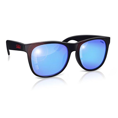 SunTect Worker Black / Hamburg Blue Sonnenbrille Polarisiert (Version 2.0)