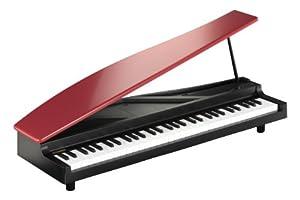 KORG コルグ 61鍵 ナチュラル・タッチ・ミニ鍵盤搭載 コンパクト・ピアノ MICROPIANO RD 赤
