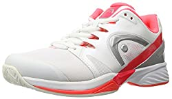 Women s Nitro Pro Tennis Shoe White/Neon Coral 7.5 B(M) US