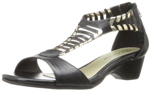 Bella Vita Women'S Padma Wedge Sandal,Black,8 M Us