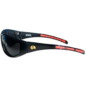 NHL Chicago Blackhawks Wrap Sunglasses