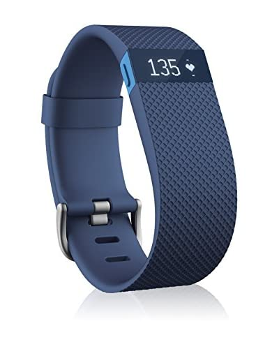 FITBIT Braccialetto fitness Charge Hr Blu