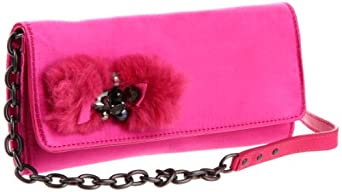 Juicy Couture Little Aristocrats Convertible Wallet,Hot Pink