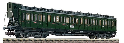 Fleischmann 581003 DRG 3rd Class Compartment Coach with Brakemans Cab II