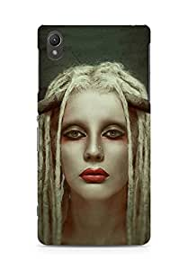 Amez designer printed 3d premium high quality back case cover for Sony Xperia Z2 (Girl)