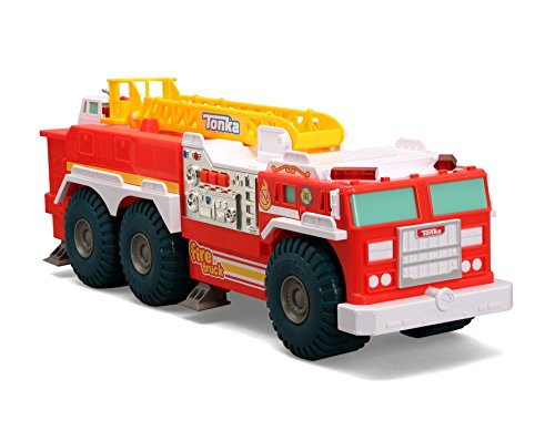 Tonka Mighty Wheels Fire Rescue, Red