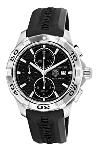 TAG Heuer Men's CAP2110.FT6028 Aquaracer Black Chronograph Dial Watch