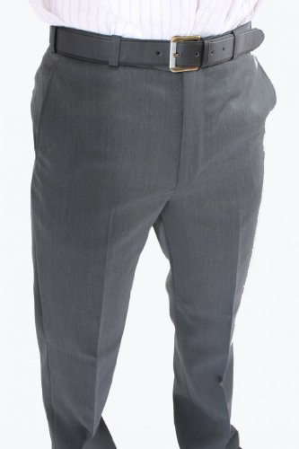 Daniel Grahame Prestige Mens Trousers 48inch Waist 29inch, Mid Grey (03)