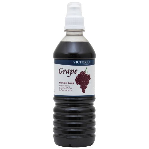 VICTORIO 16-Ounce Shaved Ice/Snow Cone Syrup, Grape
