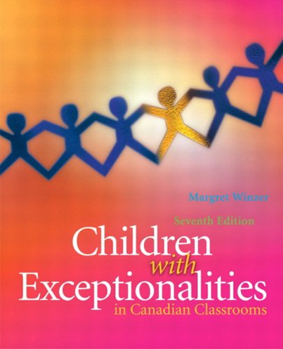 Children with Exceptionalities in Canadian Classrooms
