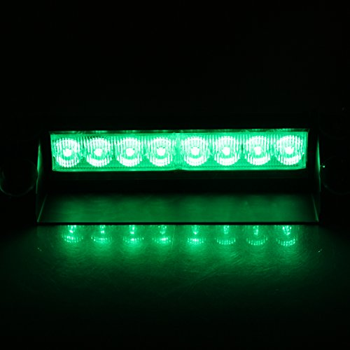 Discover Bargain XKTTSUEERCRR 8LED 3 Flahing Modes Van/ Truck/ Vehicle/ Car Deck, Windshield, Grill,...