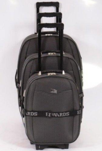 Koffer Trolley-Set von Edwards 3-Teilig - Neuware
