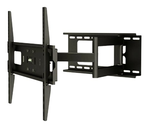 OSD Audio TSM-13-462 Two Arm Series Heavy Duty Tilt Swivel Articulating LED, LCD and Plasma Mount for 32-Inch to 60-Inch TV, Black (Black)