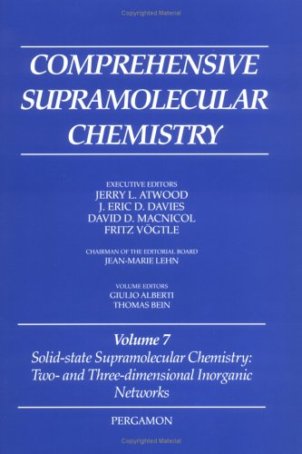 Solid-State Supramolecular Chemistry: v.7: Two- and Three-Dimensional Inorganic Networks: Vol 7