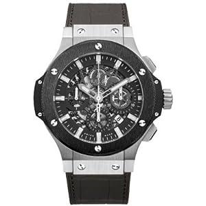 Hublot Big Bang Aero Bang Stainless Steel and Ceramic Watch
