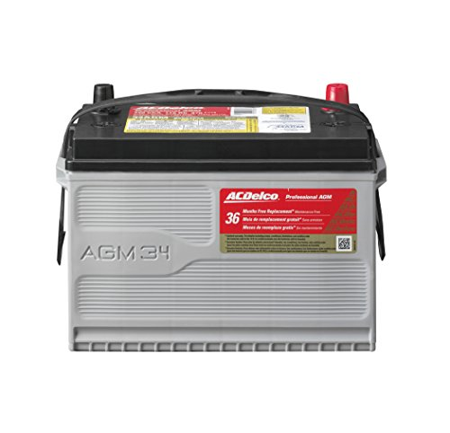 ACDelco 34AGM Professional AGM Automotive BCI Group 34 Battery (Group 78 Car Battery compare prices)