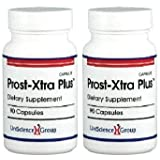 Prost-Xtra Plus with Rye Grass, Flower Pollen Extract, and Plant Sterols, 2 Bottles of 90 Capsules