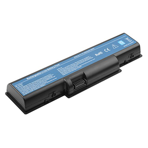 Replacement 6 Cell 11.1v 4400mah Battery Pack for Gateway Laptop Computer: Nv52 Nv53 Nv54 Nv56 Nv58 Nv59 (Gateway Nv52 Battery compare prices)