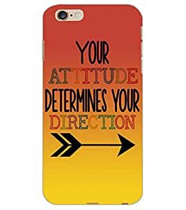 APPLE IPHONE 6 PLUS ATTITUDE Back Cover by PRINTSWAG