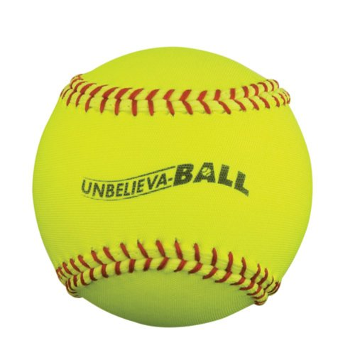 Macgregor Unbelieva-Ball 11-Inch Softball, Yellow, 12-Ct front-355558
