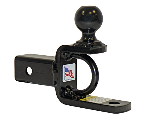 ATVUTV-Ball-Mount-With-2-Inch-Hitch-Ball-For-2-Inch-Receivers-Made-In-USA