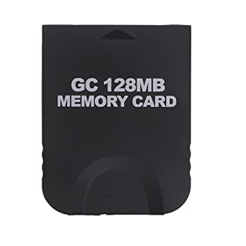 GOCOMCOM® 128MB White Memory Card compatible for Wii & Gamecube