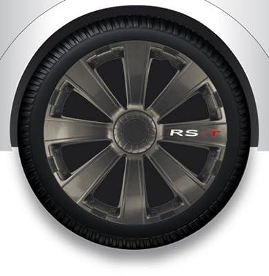 """Radzierblenden Radkappen Radabdeckung 15"""" Zoll #19 GRAU ABS von ZentimeX bei Reifen Onlineshop"""