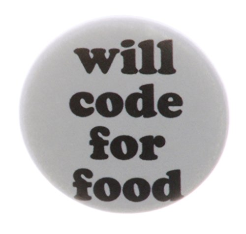 Will code for food 1.25