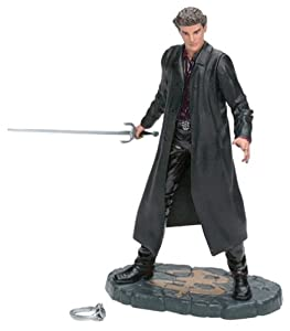 "Buffy the Vampire Slayer Series 1 - ANGEL - David Boreanaz - 6"" Action Figure (2000 Clayburn Moore)"