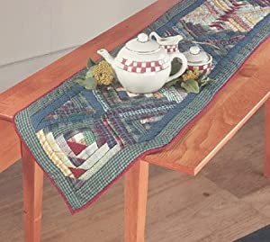 Table Cloths Cotton Table Runner Patchwork 60''