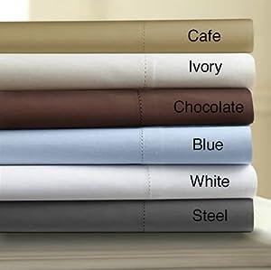 "Amazon.com - Egyptian Cotton Sateen 800 Thread Count 24"" Deep"