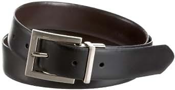 Calvin Klein Women's Reversible Belt,Black/Brown,Medium
